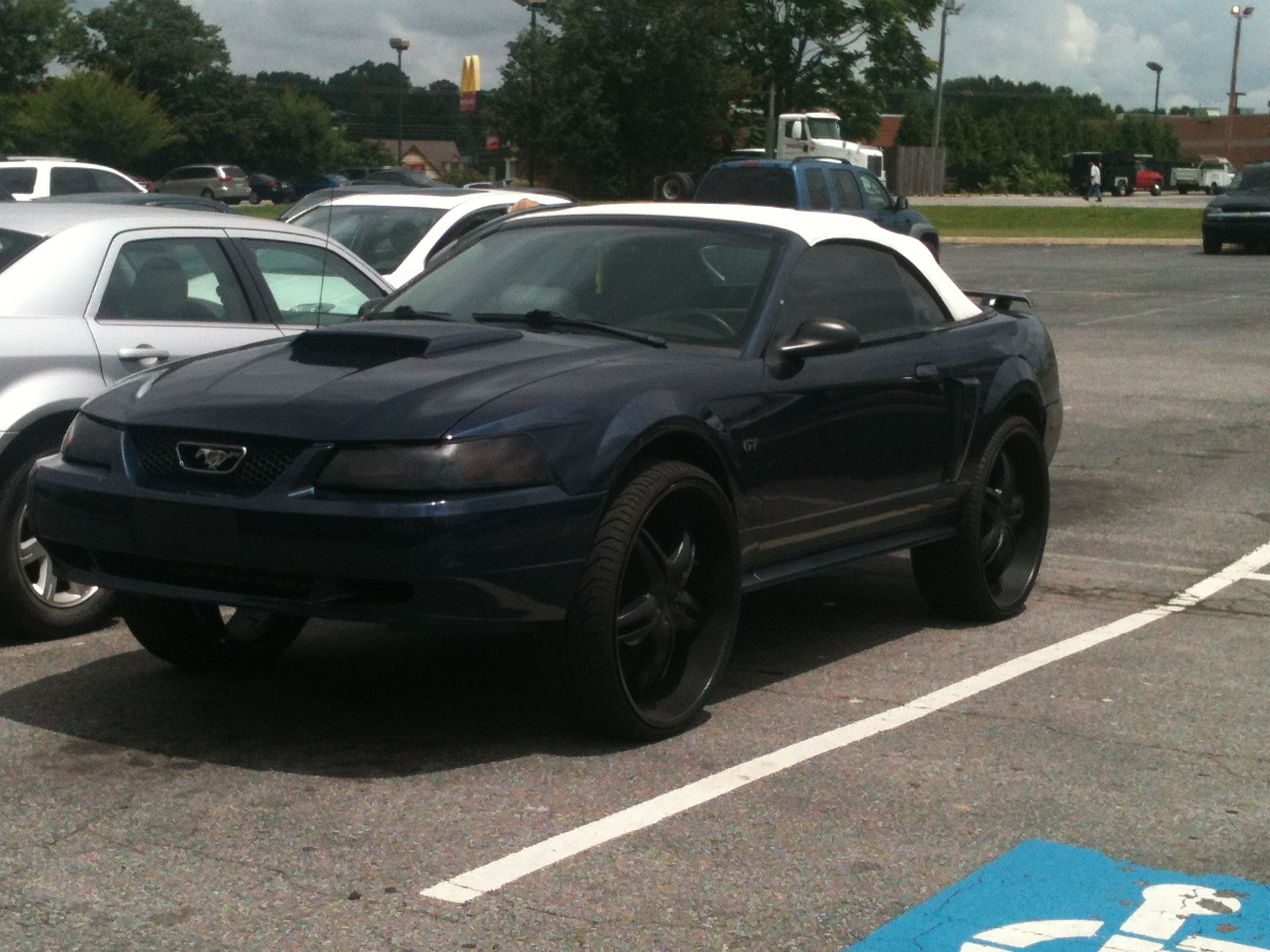 Rediculous Mustang Donk Silly Rides Car Mustang Vehicles