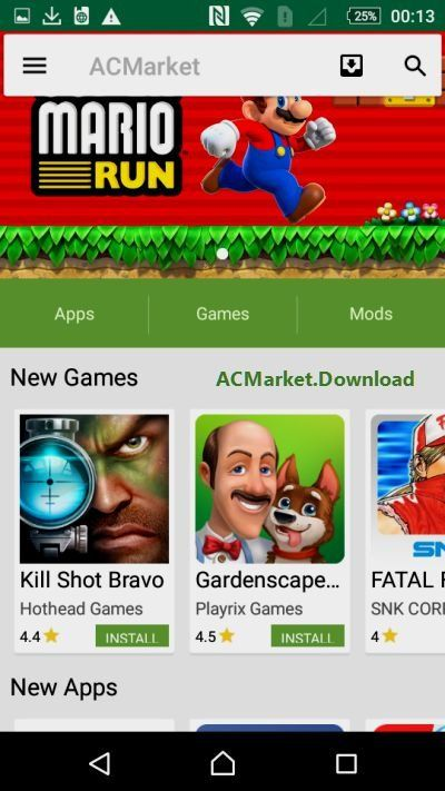 Download Paid Android Apps For FREE with AC Market Apk