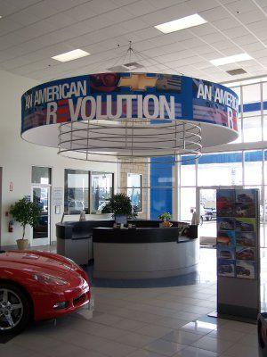 Reception Desk For Three Way Chevrolet Cadillac, Bakersfield, CA