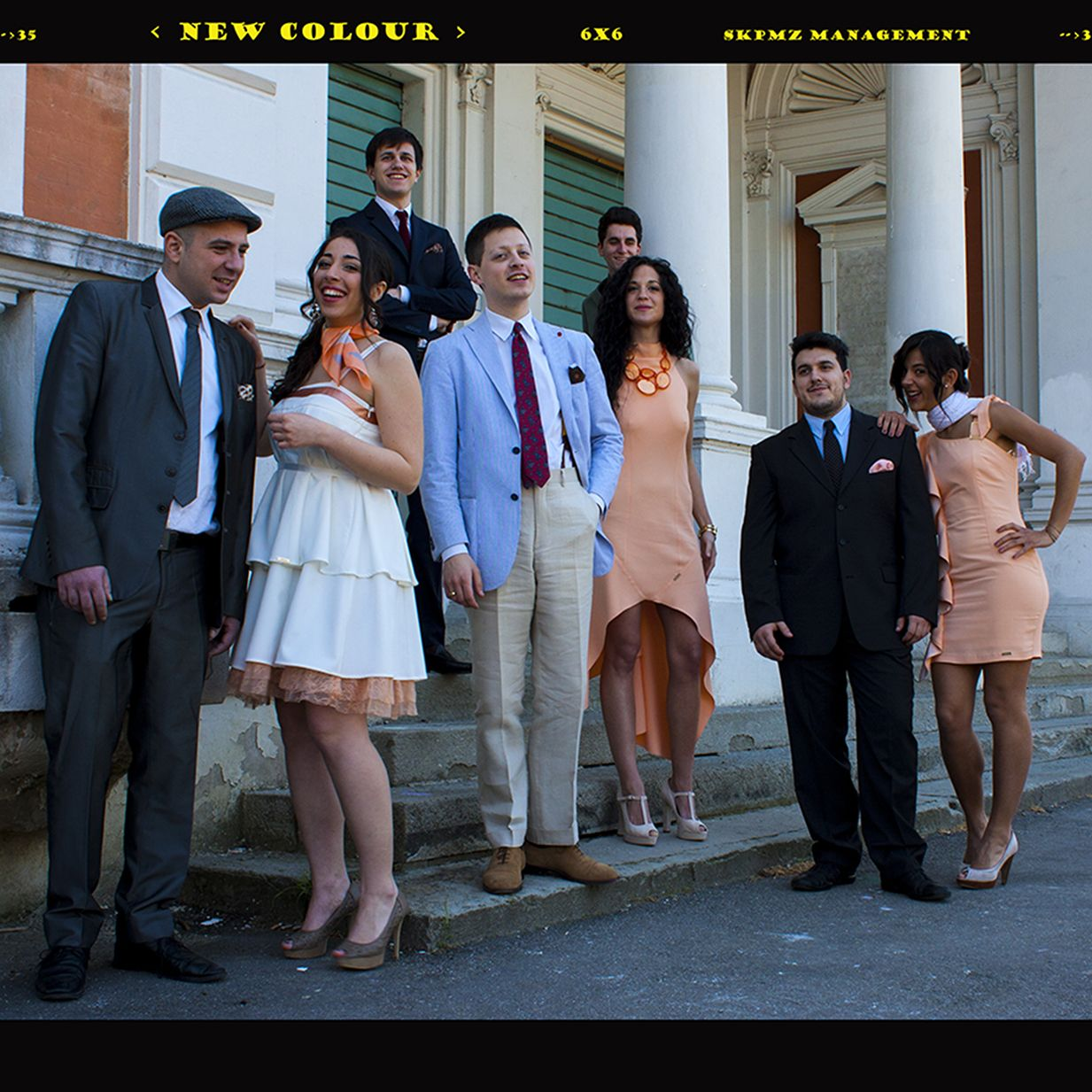 New Colour is a soul band from Bologna, Italy  Five