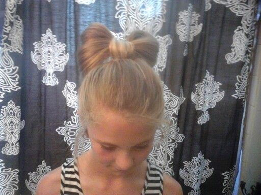 My soon to be stepmom did my hair its really cute we found out jow to do it thanks to pinterest