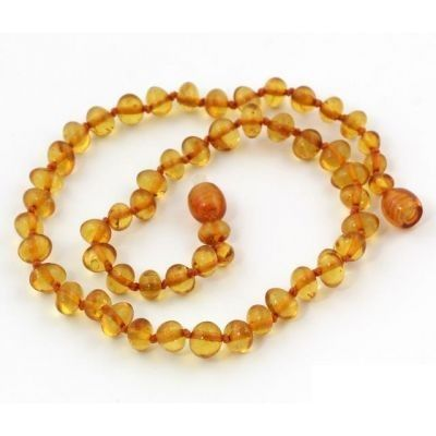 Baltic Amber Teething Necklaces. A great natural remedy that has been used for centuries!