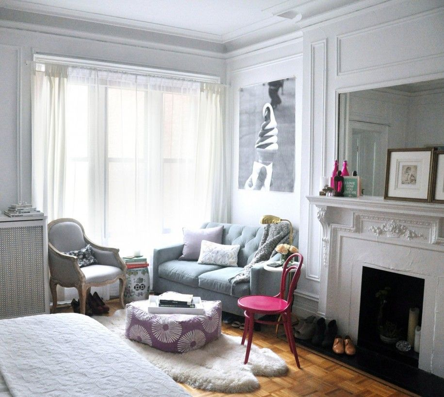 Apartment Astonishing Very Small Apartment Design Bedroom With