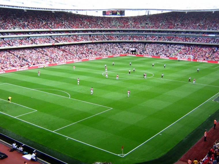 Free Download Football Soccer Wallpapers Emirates Stadium Wallpapers 1024x768 For Your Desktop Mobile Tablet Stadium Wallpaper Football Stadiums Stadium
