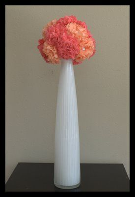 Tissue flower pomander ball things to make pinterest flower tissue flower pomander ball mightylinksfo