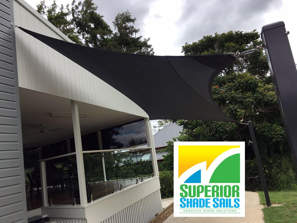 Ipswich Driveway/Carport shade sail in Charcoal. in 2019