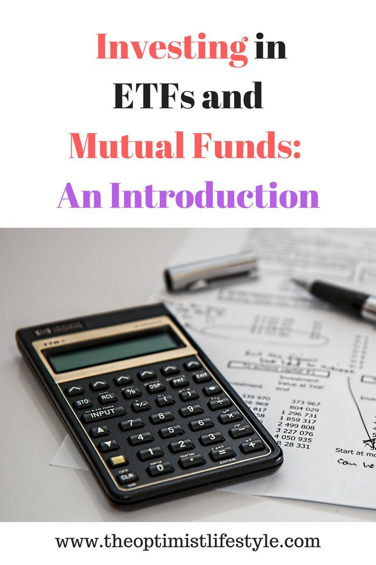 An introduction to investing in ETFs and Mutual Funds #stockportfolio