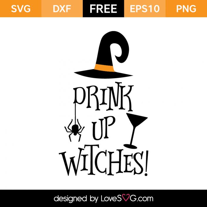 Drink Up Witches Halloween silhouettes, Cricut, Cricut vinyl
