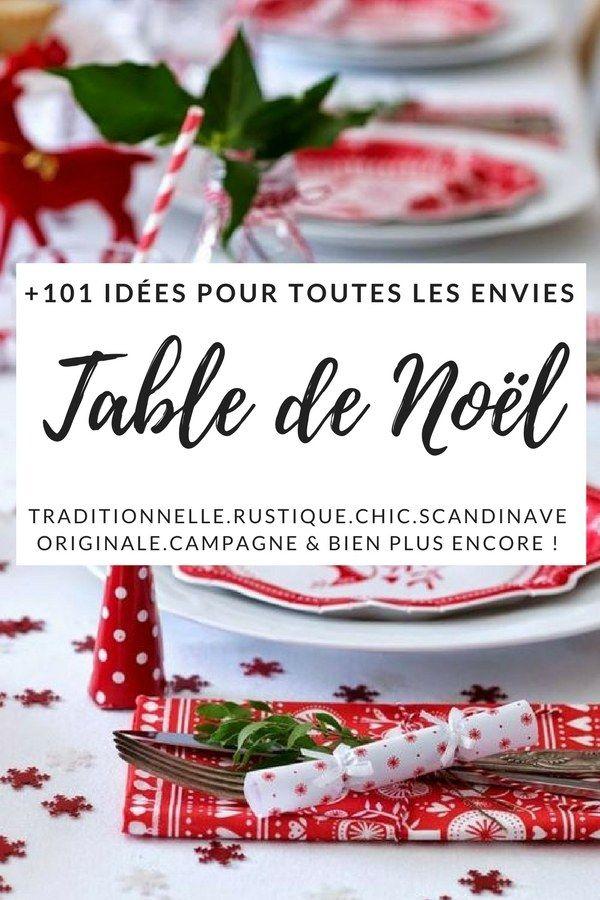 Dco De Table Pour Nol 2017 101 Ides Pour Toutes Les