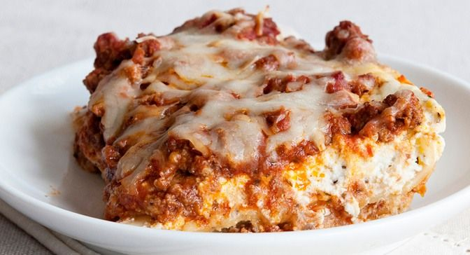 Classic Lasagna : This traditional lasagna will be welcome at any occasion, from a casual gathering with friends and family to a holiday buffet. Photo credit: Kristen Doyle from Dine and Dish.