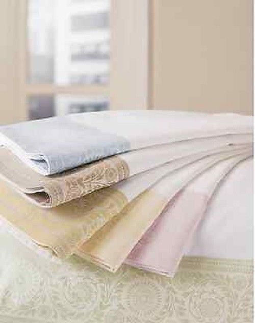 Sferra 406  Celeste Standard Sham New Egyptian Cotton Below Wholesale