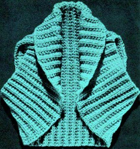 Hug-Me-Tight Shrug - Vintage Knitting Pattern for Shrug / Bolero by ...