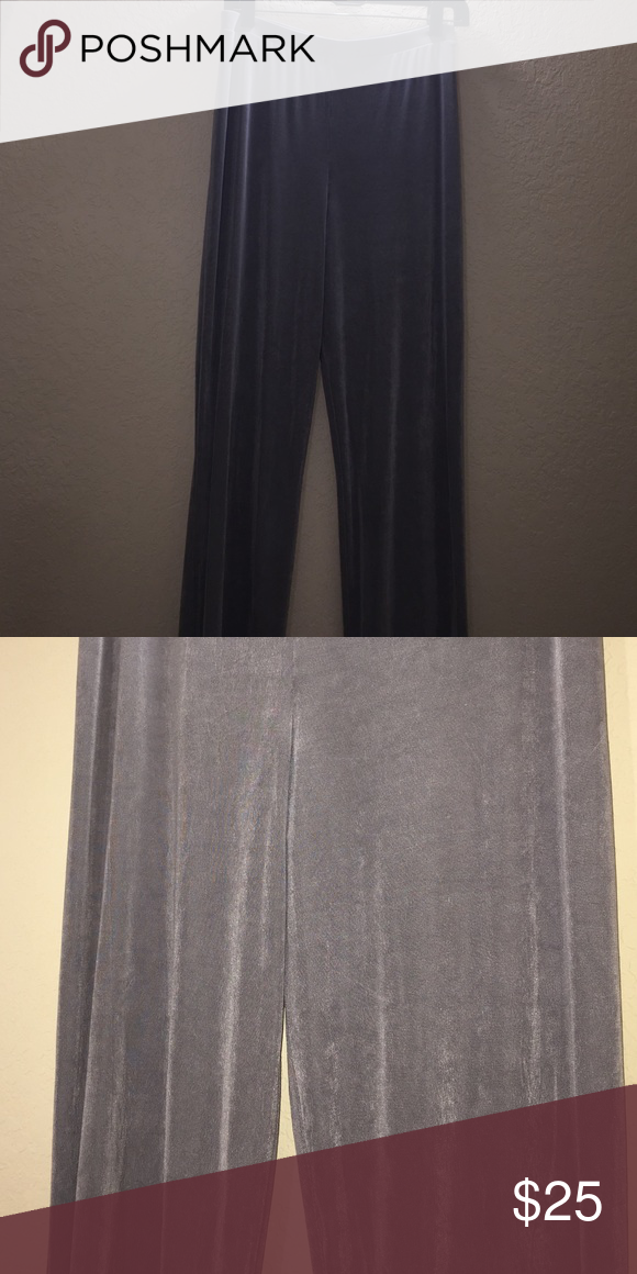 Chico's Travelers no iron pants Size 1 regular in Chico's sizes is a size medium or 8. No iron traveling pants. Super comfortable. Grey color Chico's Pants