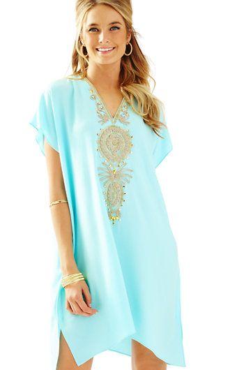 eb86d3cc7beab Lilly Pulitzer Chai V-Neck Caftan Dress | New Arrivals | Caftan ...