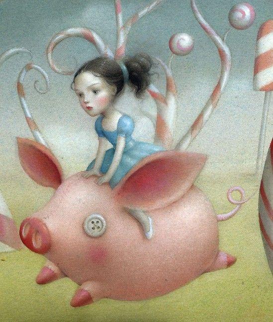 The Art of Nicoletta Ceccoli - https://www.google.nl ...