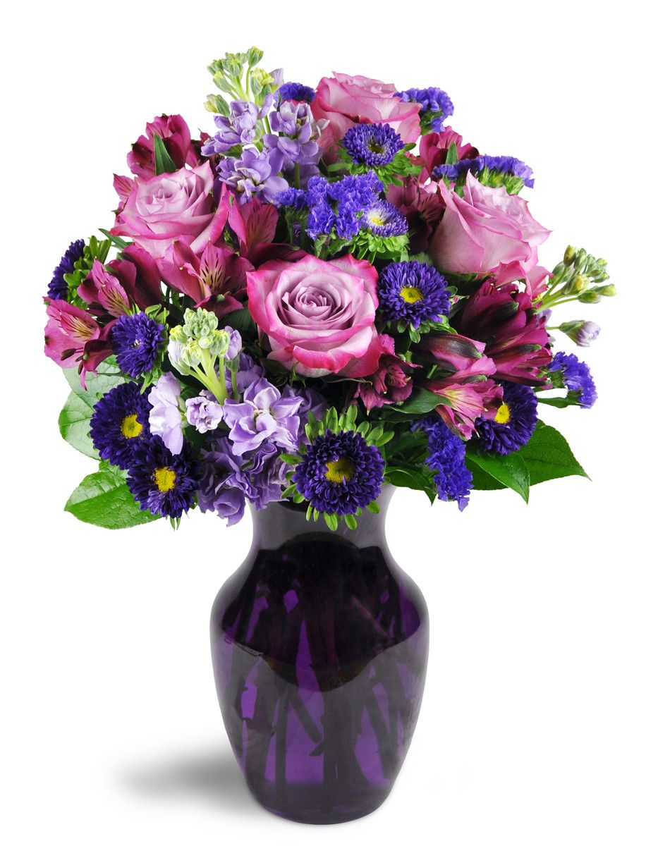 Check out this beautiful floral arrangement lovely lavender