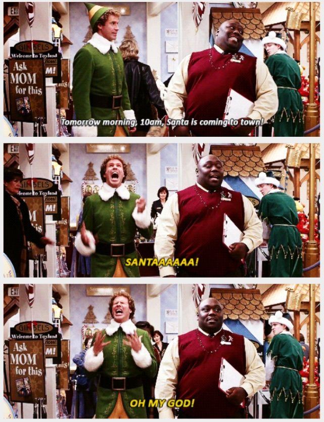 My Favorite And The Absolute Best Part Of This Movie Elf