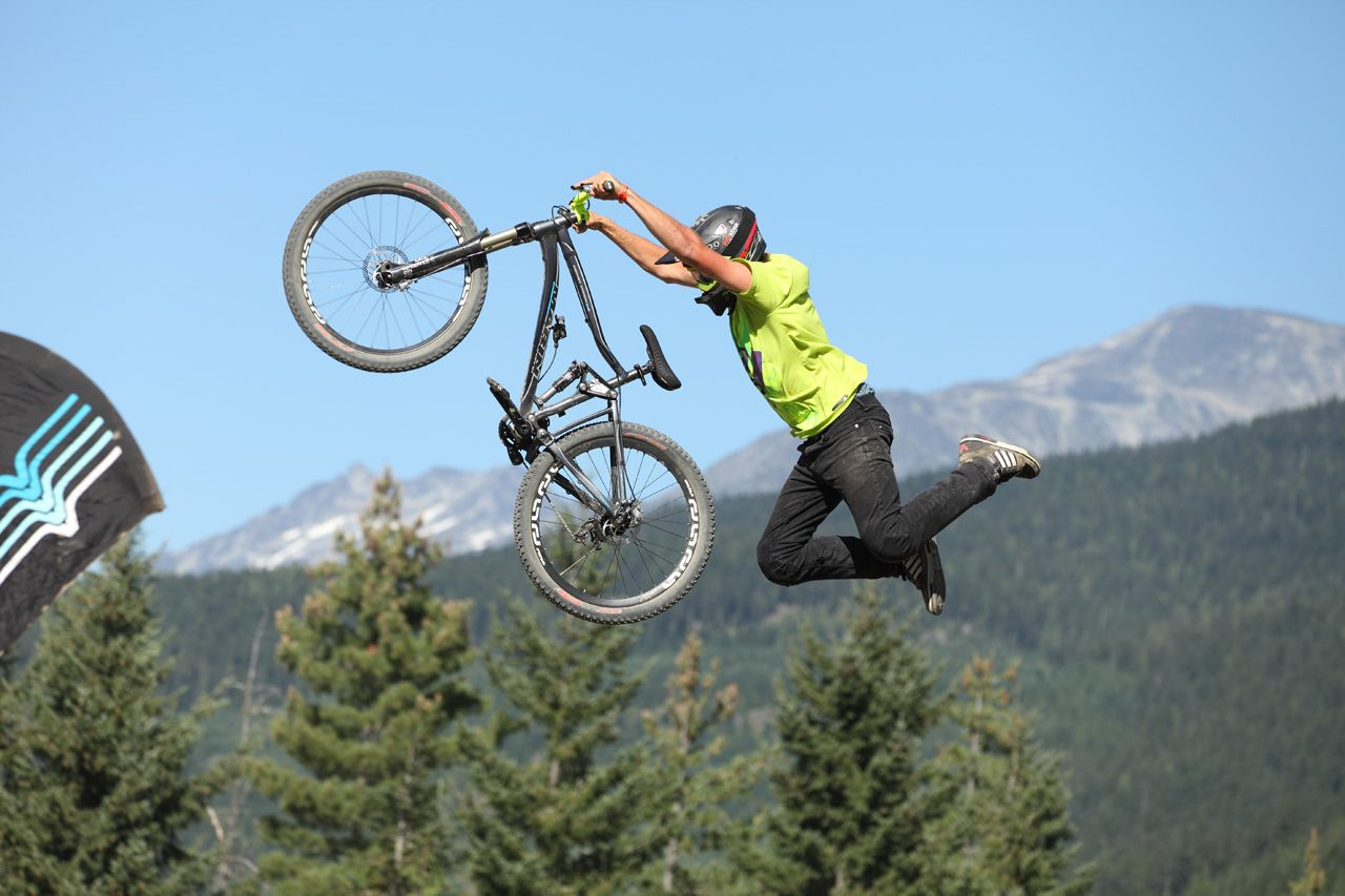 freestyle mountain bike competition