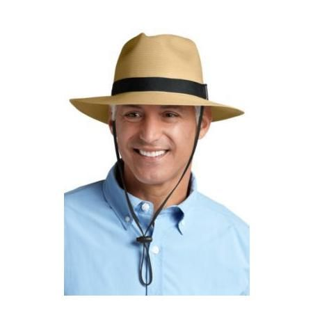 6025d1f909e0eb Coolibar Men's Packable Fedora Hat UPF 50 | mens fashion | Fedora ...