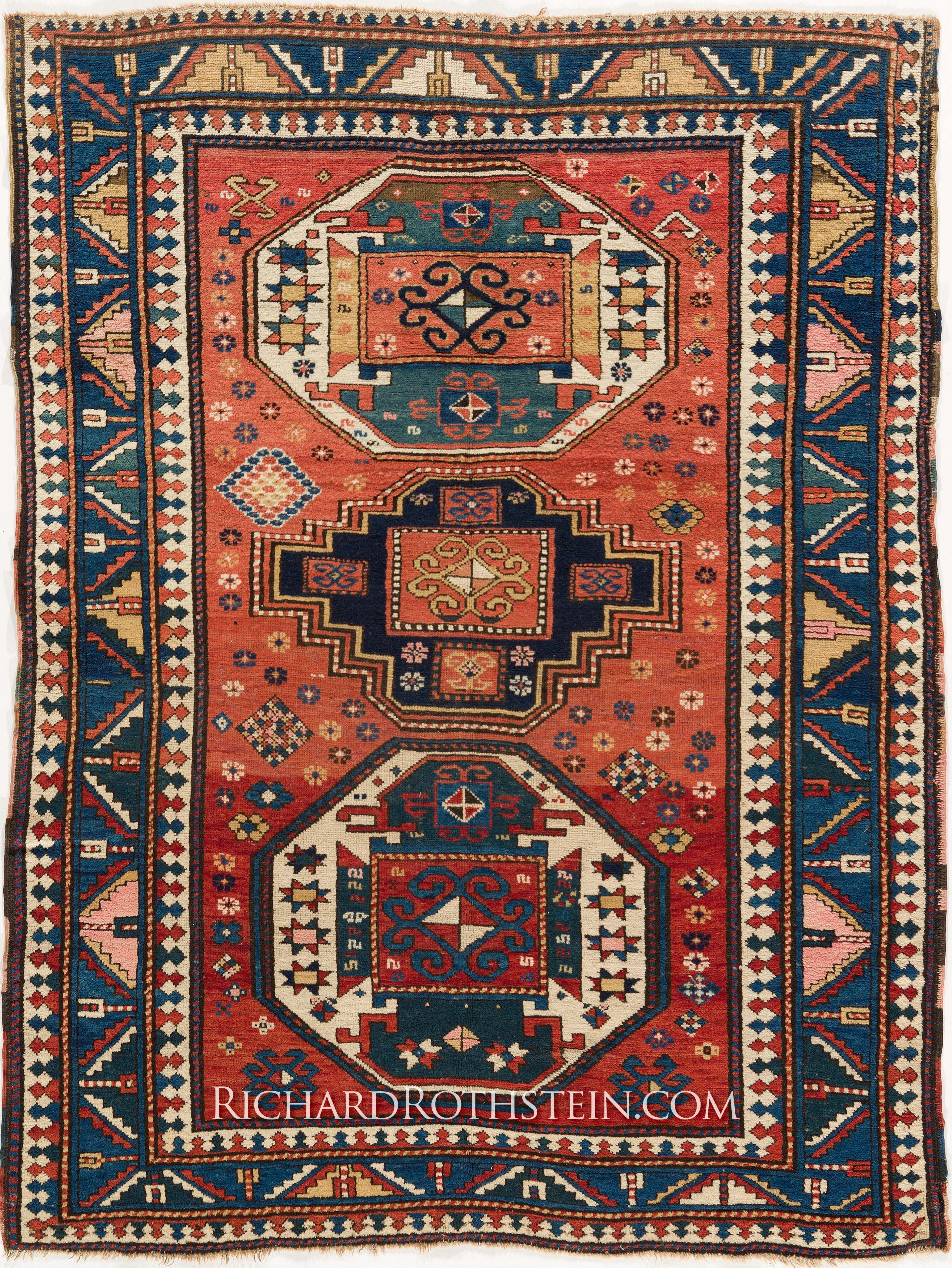 magnificent antique kazak oriental rug c55d4401