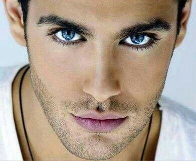 Sexy guys with blue eyes