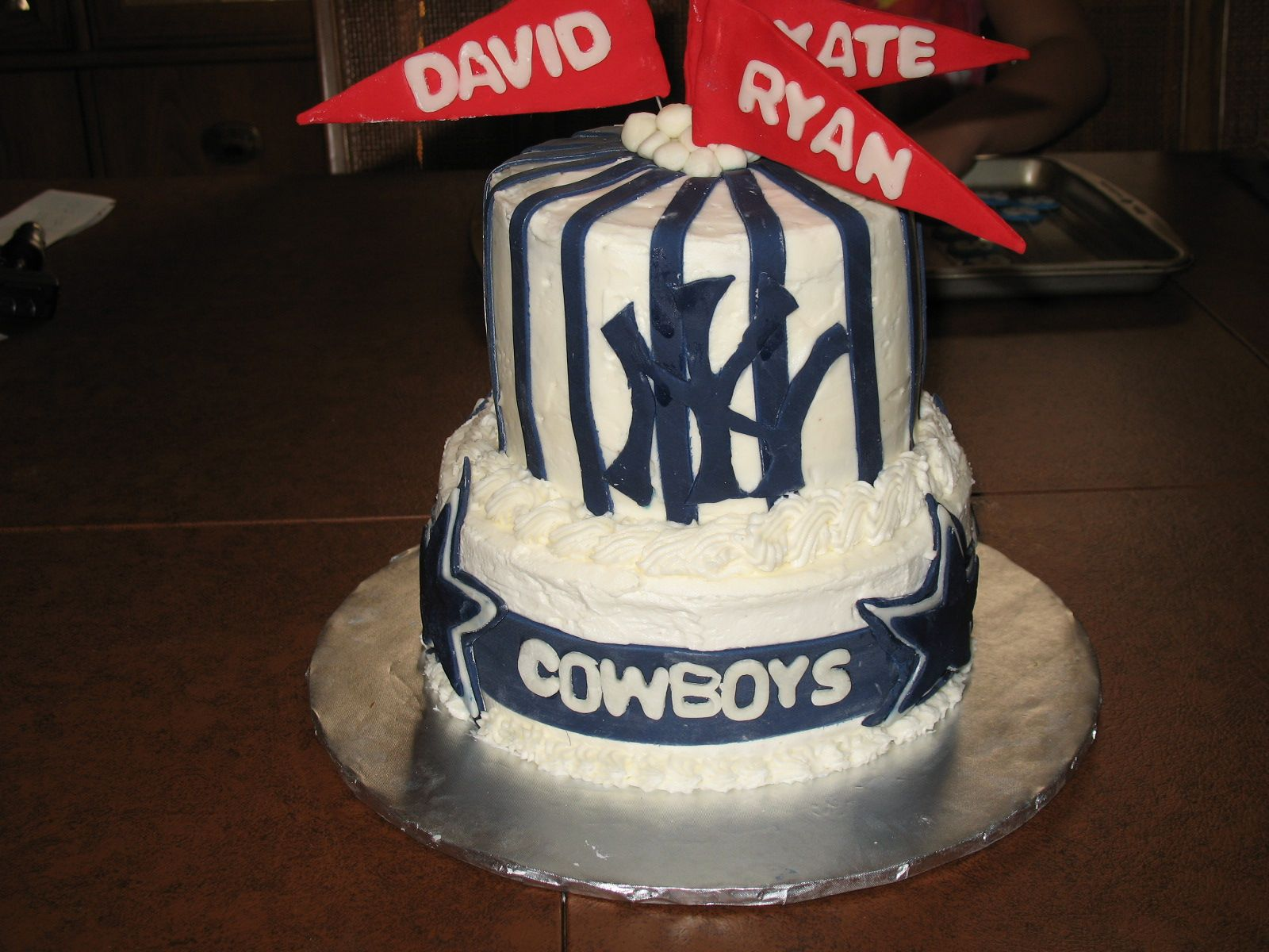 DALLAS COWBOYS 50TH BIRTHDAY CAKES