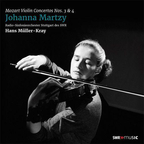 Johanna Martzy Mozart Violin Concertos Nos 3 4 180g Import Lp Violin Mozart Live Concert