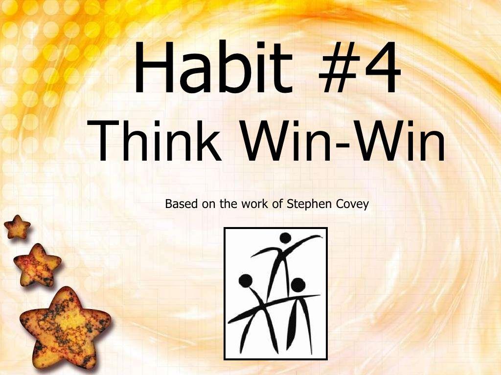 Think Win Win By Danielleisathome Via Slideshare