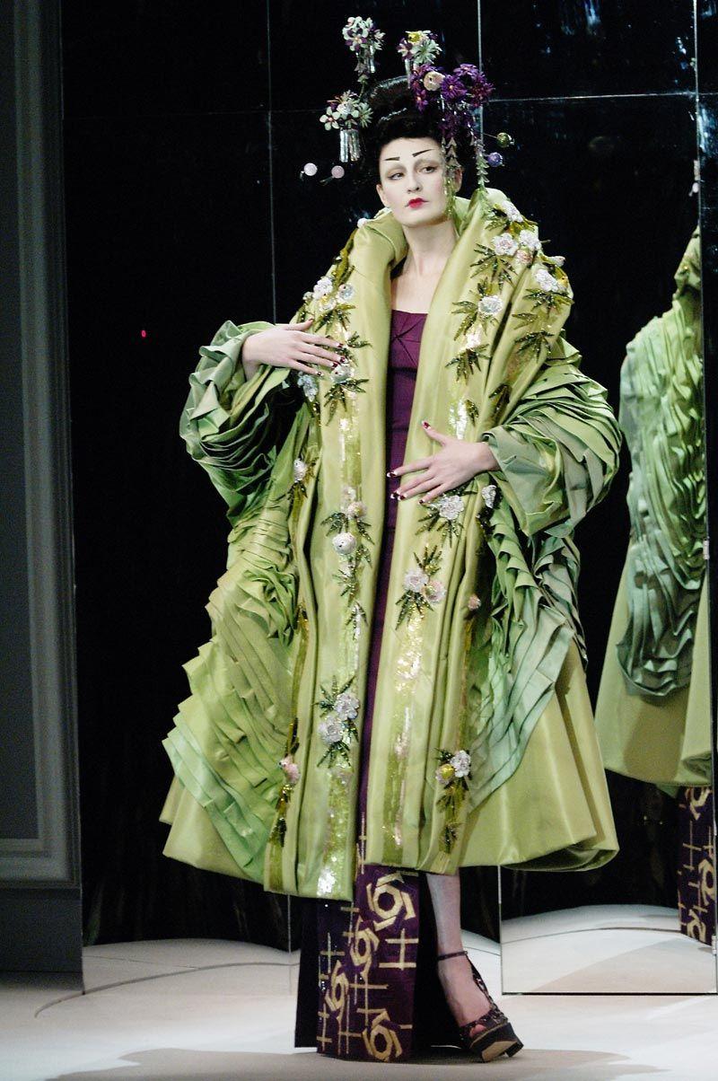 Erin O'Connor | Celebrities | Foros Vogue - Christian Dior HC S/S 07
