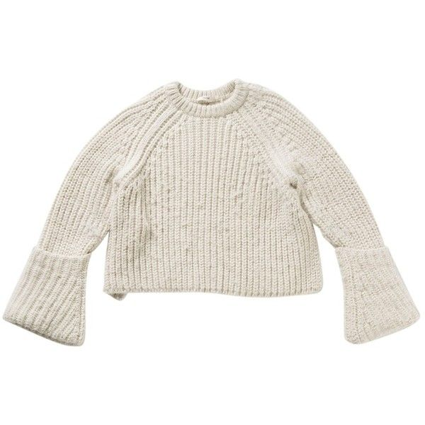 527ef1040f3 Wool jumper CÉLINE ( 855) ❤ liked on Polyvore featuring tops ...