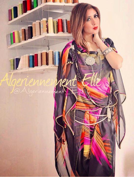 modern chawi algerian fashion pinterest chaoui traditionnel et tenue traditionnelle. Black Bedroom Furniture Sets. Home Design Ideas