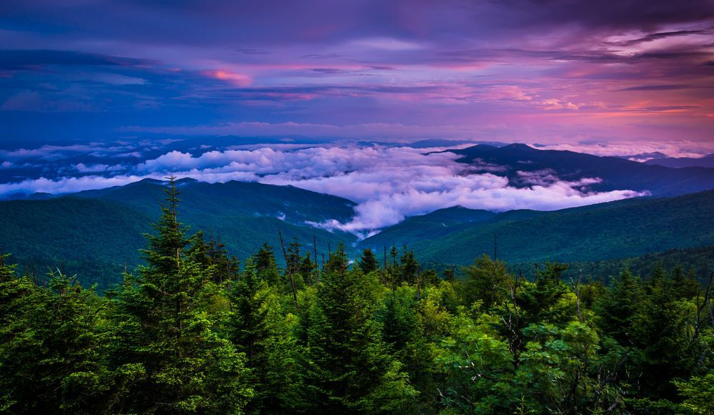 Great Smoky Mountains at sunset... Absolutely gorgeous!