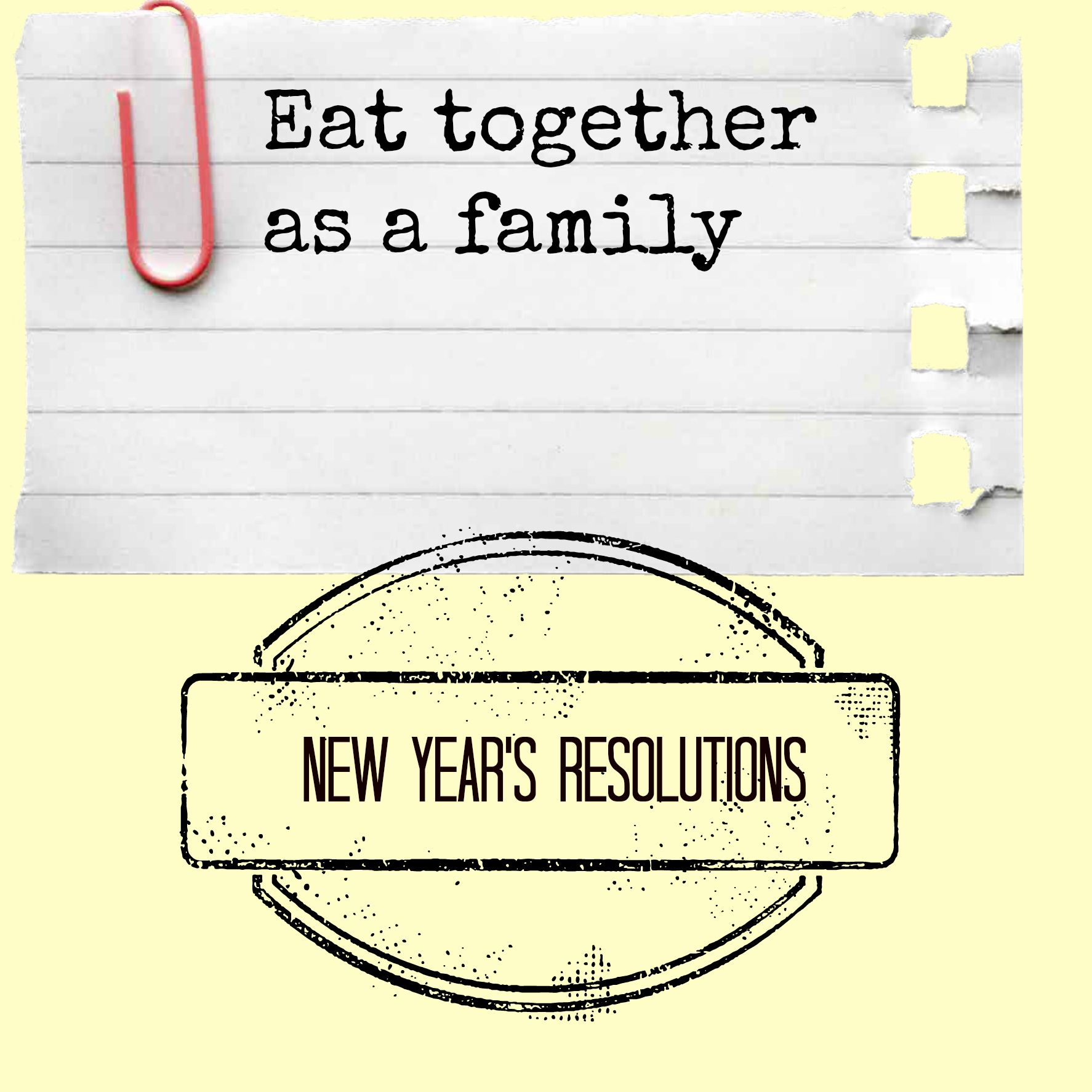 20 Great Ideas For Your New Year S Resolutions Even If