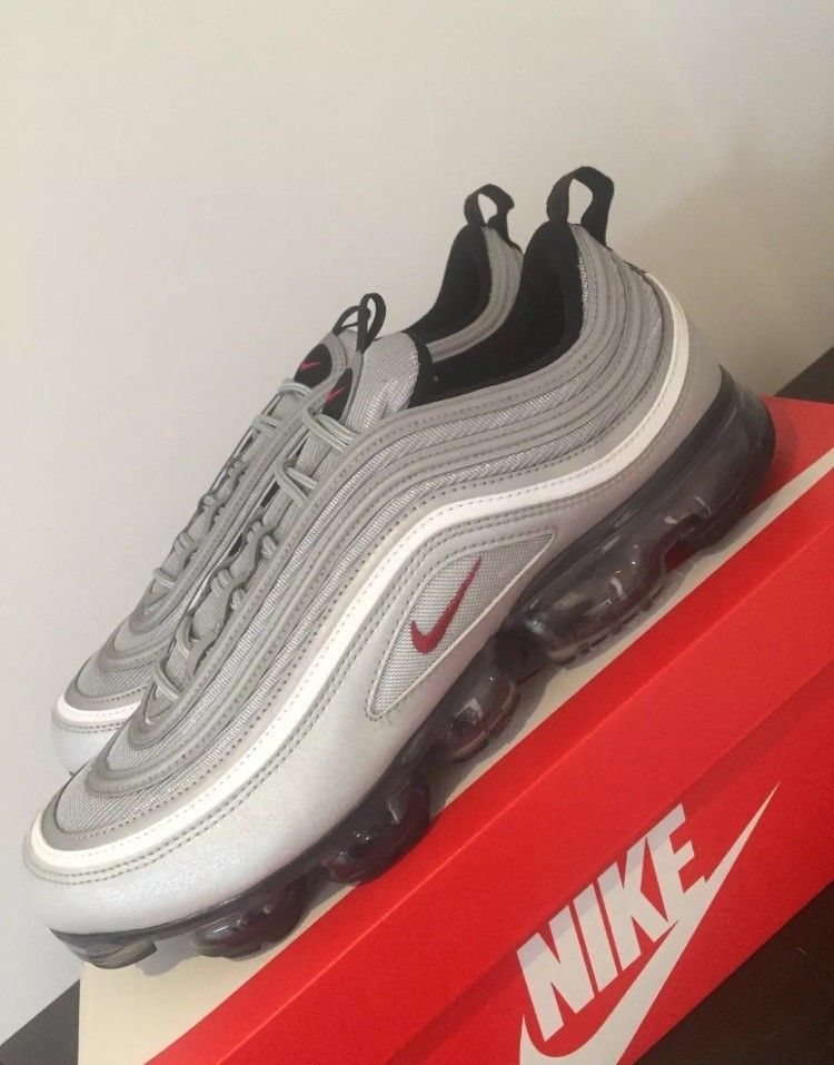 b82eb8c794 Deadstock Nike Air Vapormax 97 Silver Bullet #fashion #clothing #shoes  #accessories #mensshoes #athleticshoes (ebay link)