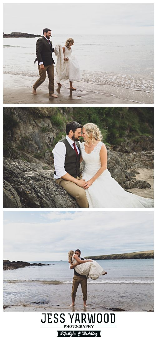 Beach Wedding Photography In North Wales