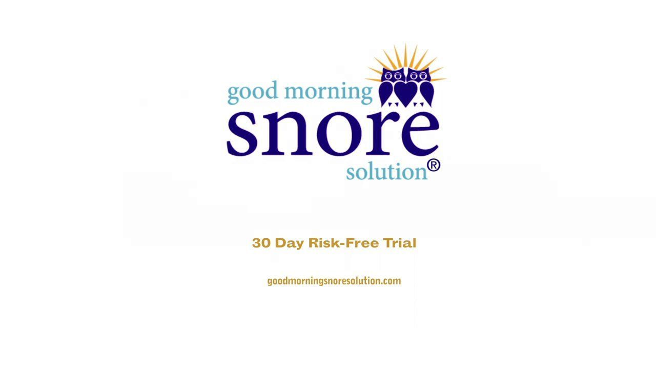 How To Use Good Morning Snore Solution Good Morning Snore Solution Is A Revolutionary Stop Snoring Mouthpiece Developed By Top Slee Snore Solutions Snori