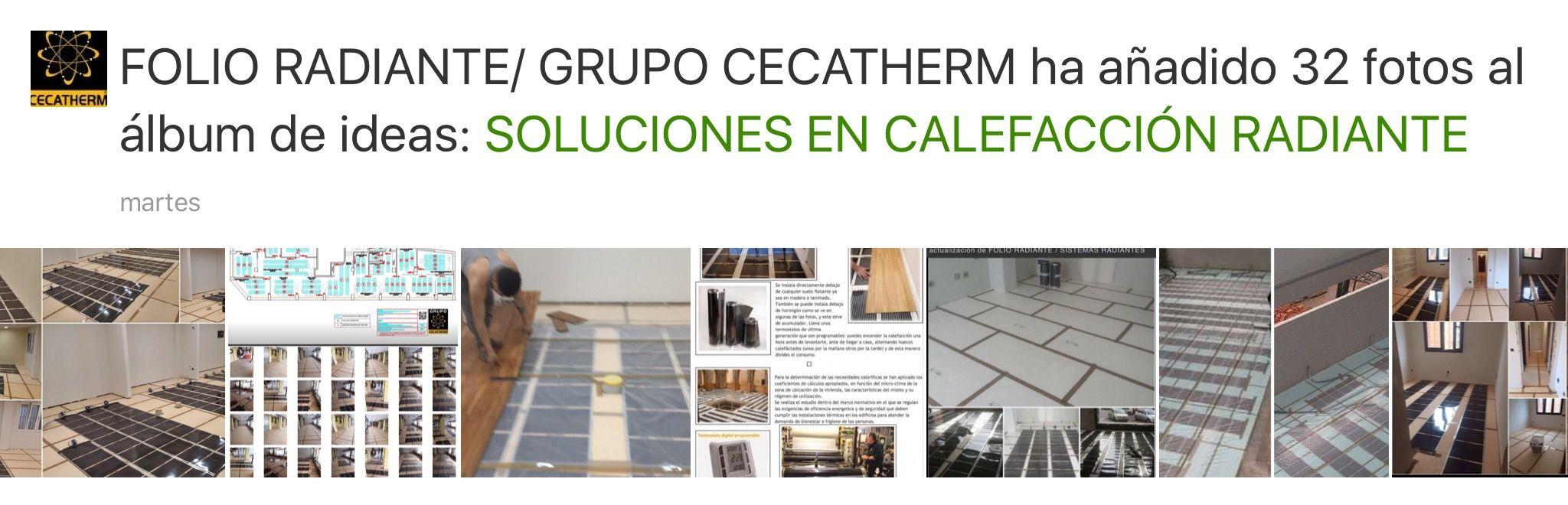 SUELO RADIANTE / CALEFACCIÓN RADIANTE / FOLIO RADIANTE / CECATHERM ...