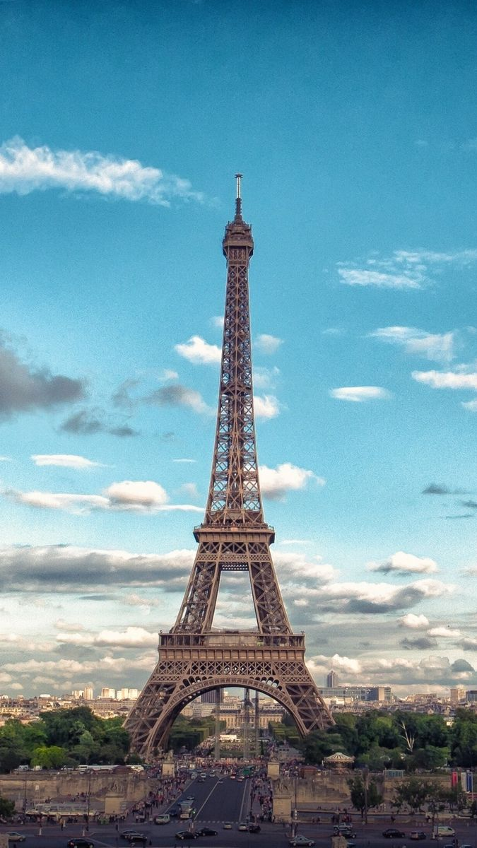 Iphone Wallpapers For Iphone 8 Iphone 8 Plus Iphone 6s Iphone 6s Plus Iphone X And Ipod Touch High Quality Wallpa Eiffel Tower Tower Architecture Wallpaper