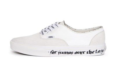 N Hoolywood Puts Its Spin On The Vans Authentic Sneakers Vans Authentic Vans