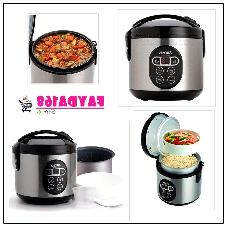all in one aroma kitchen food maker digital rice cooker steamer from ...