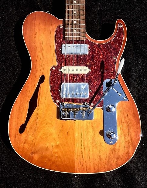 Fret King Fkv22hb Country Squire Semi Tone Dlx Honey Burst Semi