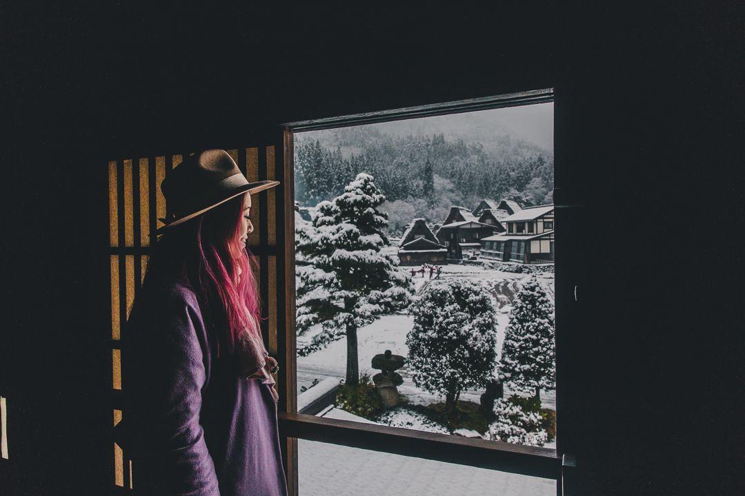 Shirakawago Snow November 12