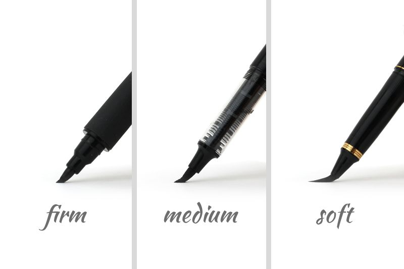 Guide to choosing a brush pen for calligraphy jetpens.com