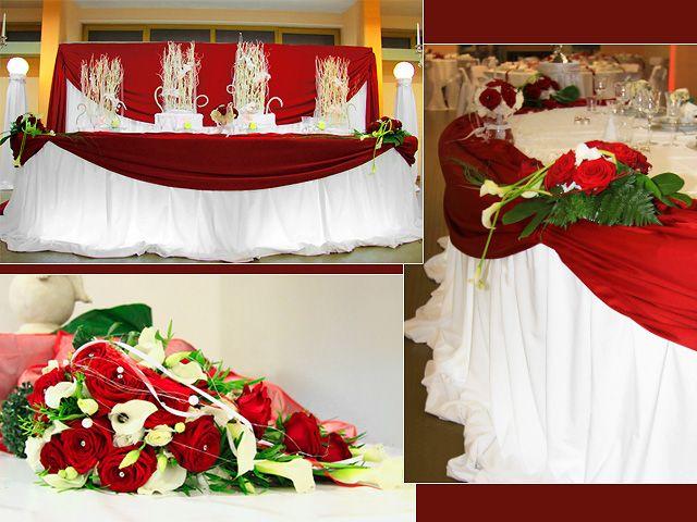 Crimson weddings receptions wedding decoration ideas for Cheap wedding venue decoration ideas