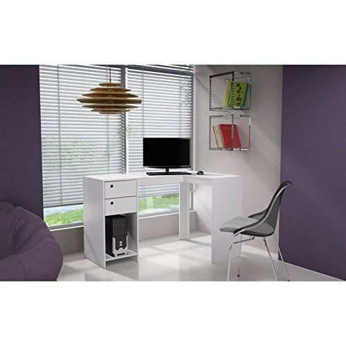 Manhattan Comfort Palermo 50 39 L Shaped Computer Desk I Https