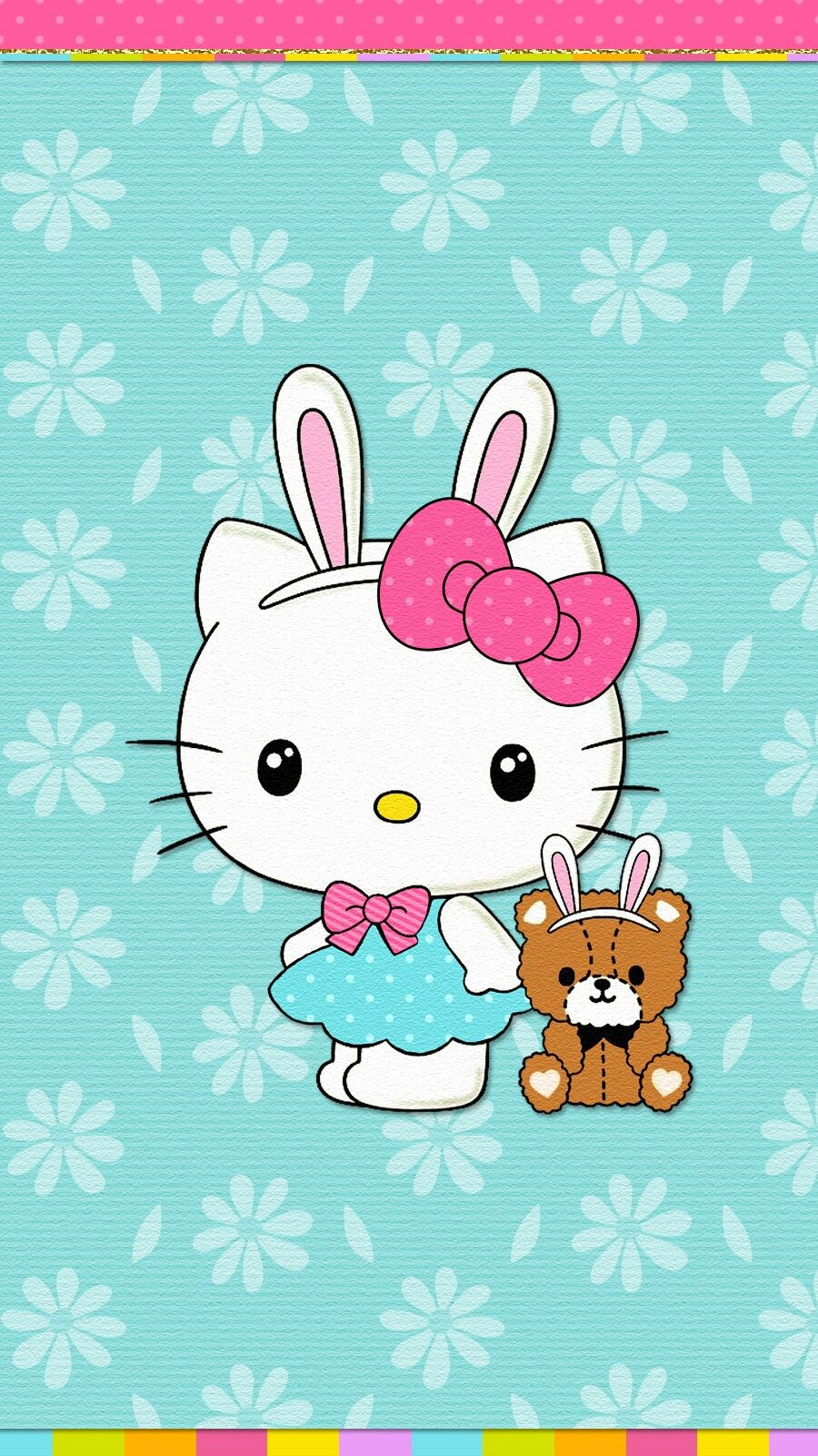 Easter Bunny Wallpaper Iphone Hello Kitty Wallpaper Hello
