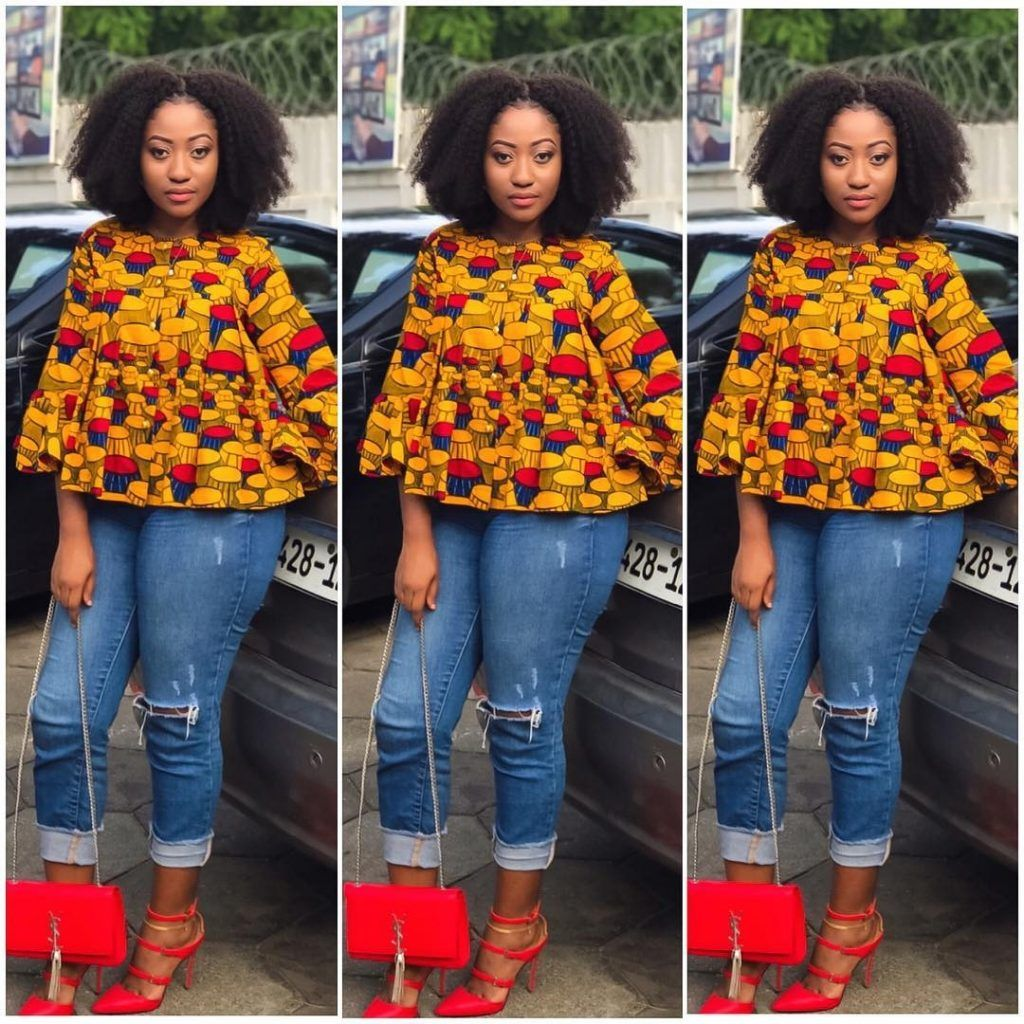 Are You Looking For Some Stylish And Trendy Ankara Tops To