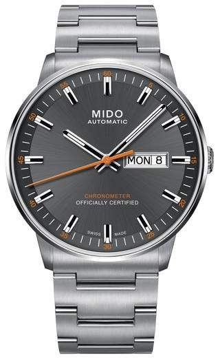 be1bff9143f MIDO Commander Chronometer Bracelet Watch
