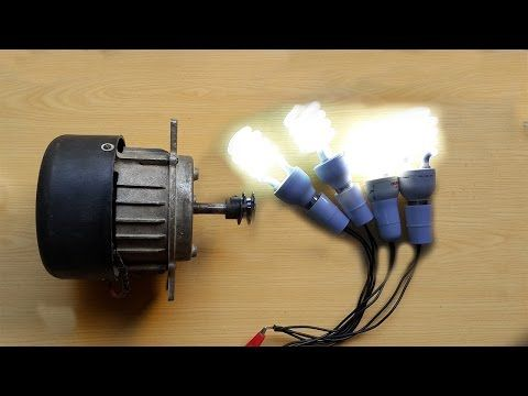 How To Make Free Energy Generator 220v From Washing