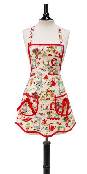 Apron Patterns Free | Jessie Steele 1950\'s type apron. Do you cook ...
